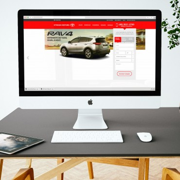 Internet | Banner | Toyota Strada Motors