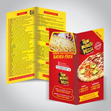 Flyer | Dom Moretto Pizza