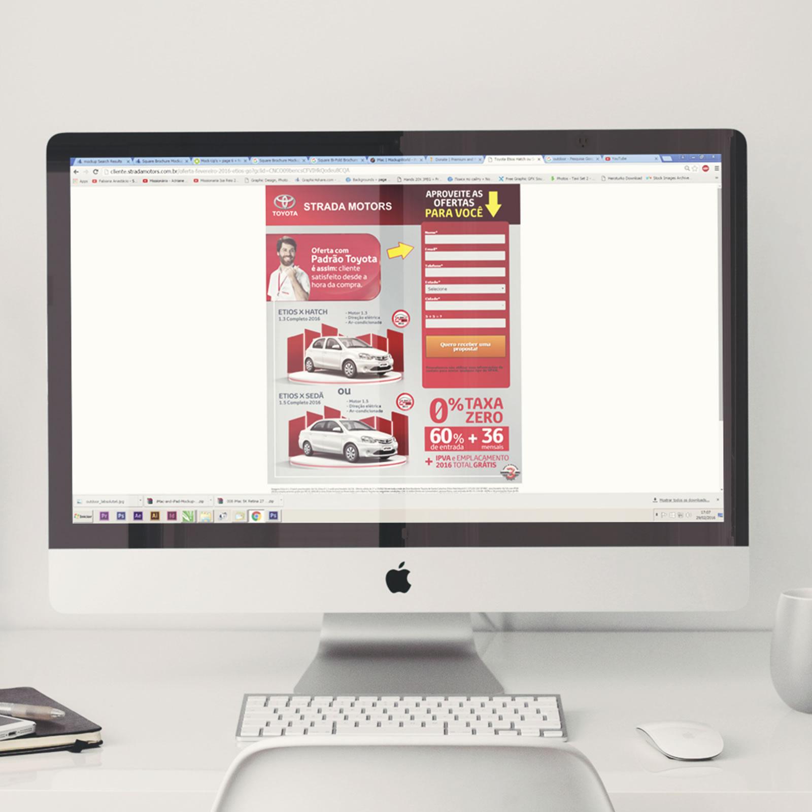 Landing Page | Internet | Toyota Strada Motors
