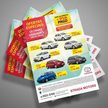 Panfleto | Toyota Strada Motors