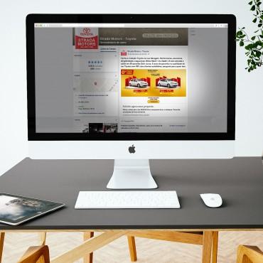 Social Post | Internet | Toyota Strada Motors